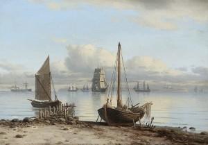 Maleri af Carl Baagøe 1887